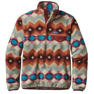 Patagonia Rare Patterned Synchilla Snap T